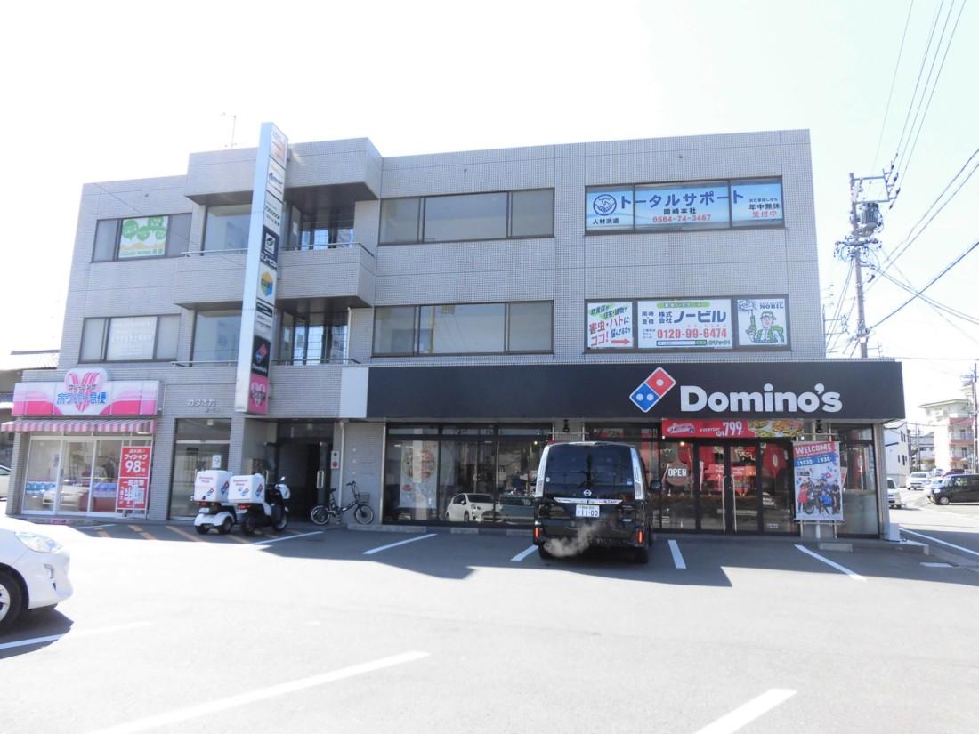 ロードサイド物件!26号線沿い・岡崎インター近くでアクセス良好です!事務所・営業所などにおすすめ!敷地内駐車場11台あり!